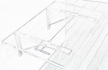 Folding Table Sketch