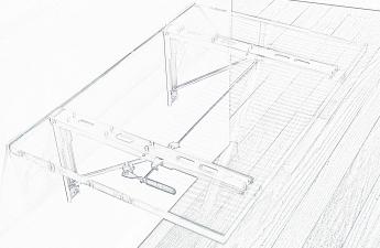 Folding Table Sketch