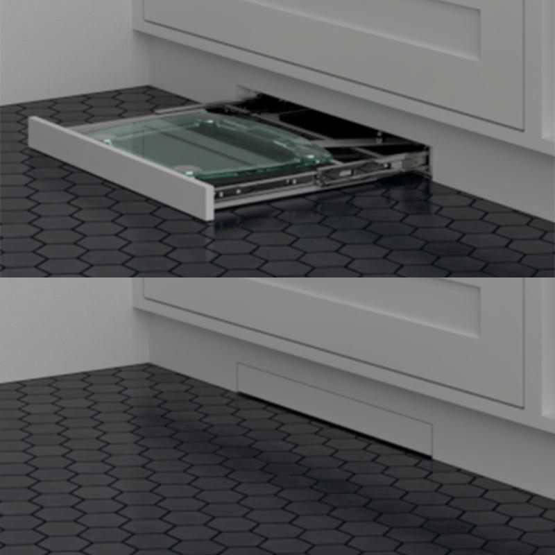 EZ-Drawer Bathroom Storage Scales