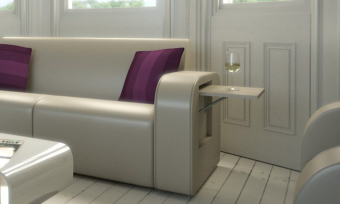 Couch Fold Up Table